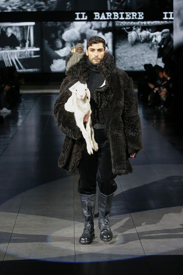 Dolce & Gabbana Fall 202 Menswear